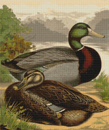 Rouen Ducks - Cross Stitch Chart