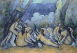 Les Grandes Baigneuses Cross Stitch Chart - Paul Cezanne