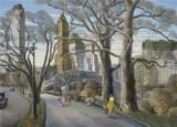 Central Park Cross Stitch Pattern - Carl Gustaf Nelson