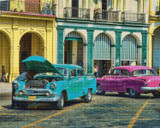 Havana  Repair Shop Cross Stitch Pattern - Ed Bolt