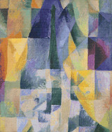 Simultaneous Windows Cross Stitch Pattern - Robert Delaunay