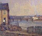A Fisherman's House Cross Stitch Pattern - Robert Spencer