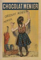 Chocolat Menier Cross Stitch Pattern