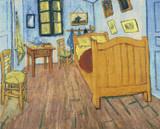 Bedroom at Arles Cross Stitch Pattern - Vincent van Gogh