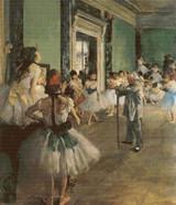 The Ballet Class Cross Stitch Pattern - Edgar Degas