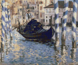 The Grand Canal, Venice Cross Stitch Chart - Edouard Manet