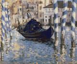 The Grand Canal, Venice Cross Stitch Chart - Edouard Manet