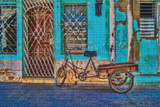 Trinidad Trike Cross Stitch Pattern - Ed Bolt