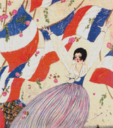 Vogue Magazine Cover - November 1, 1917 Cross Stitch Pattern