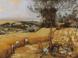 The Harvesters Cross Stitch Pattern - Pieter Bruegel the Elder
