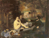 Luncheon on the Grass Cross Stitch Chart - Edouard Manet