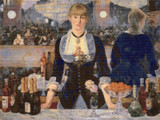 Bar at the Folies-Bergère Cross Stitch Chart - Edouard Manet