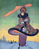 Vogue Magazine Cover - December 1913 Cross Stitch Pattern