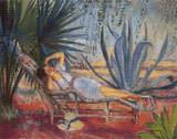 Saint Tropez Cross Stitch Pattern - Henri Lebasque