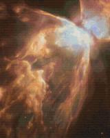 Bug Nebula Cross Stitch Pattern