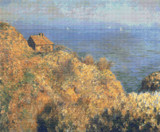 Fisherman's House, Varengeville Cross Stitch Pattern - Claude Monet