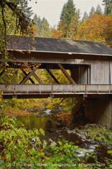 Bridge at the Grist Cross Stitch Pattern - John Mejia