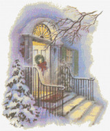 Welcome Home - Christmas Cross Stitch Chart