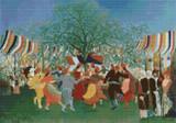 A Centennial of Independence Cross Stitch Pattern - Henri Rousseau