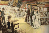 The Ball on Shipboard Cross Stitch Chart - James Tissot