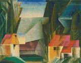 Hopfgarten Cross Stitch Chart - Lyonel Feininger