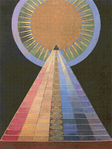 Altarpiece No. 1 Cross Stitch Pattern - Hilma af Klint