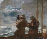 Eight Bells - Cross Stitch Pattern - Winslow Homer