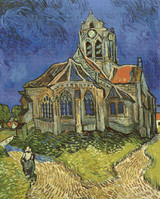 Church at Auvers Cross Stitch Pattern - Vincent van Gogh