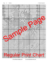 A Galactic Spectacle Cross Stitch Pattern