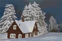 Gingerbread House Cross Stitch Chart - John Mejia