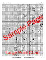 Trimming the Tree Cross Stitch Pattern