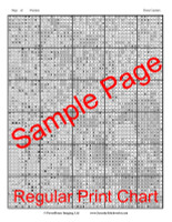 Three Carolers Cross Stitch Pattern
