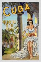 Cuba Holiday Isle of the Tropics Cross Stitch Pattern
