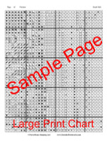 South Falls Cross Stitch Chart - John Mejia