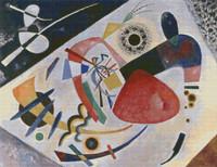 Red Spot II Cross Stitch Pattern - Wasilly Kandinsky