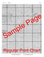 Tiger Cross Stitch Chart - Franz Marc