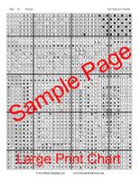 San Francisco Victorian Cross Stitch Chart - John Mejia