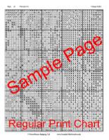 Vintage Selfie Cross Stitch Pattern - Yoko Loftis