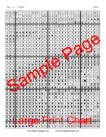 Sunrise Cross Stitch Pattern