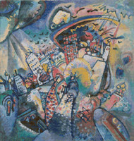 Moscow, Red Square Cross Stitch Pattern - Wassily Kandinsky