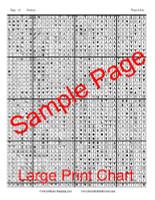 Water-Lilies Cross Stitch Chart - Claude Monet