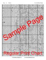 New York Winter Window Cross Stitch Pattern - Childe Hassam