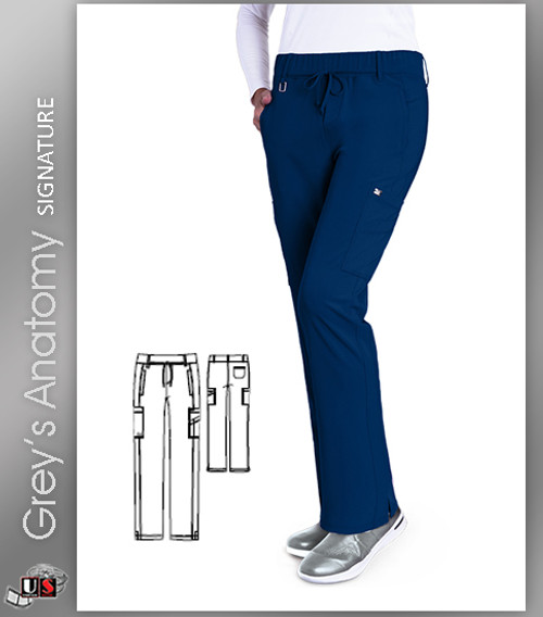 3ea7c4afdc1 Grey's Anatomy™ Signature Women's Olivia Trouser Cargo Scrub Pant ...