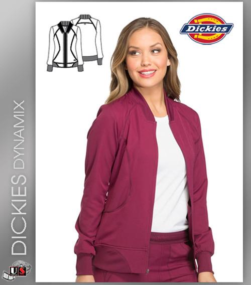 6d3f3928e5e Dickies Dynamix Womens Zip Front Warm-Up Jacket - Dental Supplies,Inc