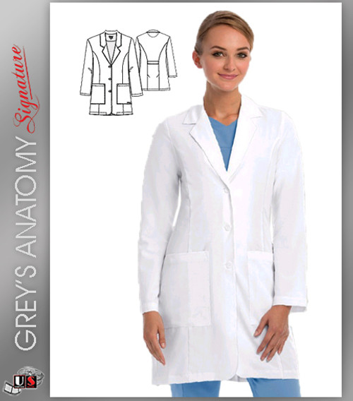 Grey s Anatomy™ Signature w  4-Way Stretch Women s Lab Coat - Dental ... cf2faed8be
