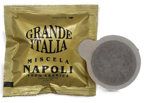 Grande Italia E.S.E 120ct Miscela Napoli One Cup Espresso Pods