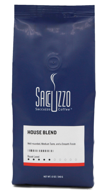 Saccuzzo House Blend 12 oz.