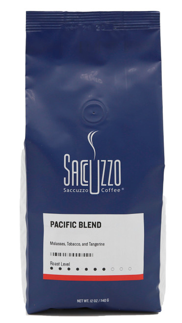 Saccuzzo Coffee Pacific Blend 12oz Bag