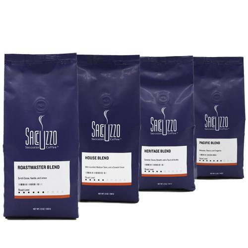 Saccuzzo Blend Sampler Bundle - 4 x 12oz Bags