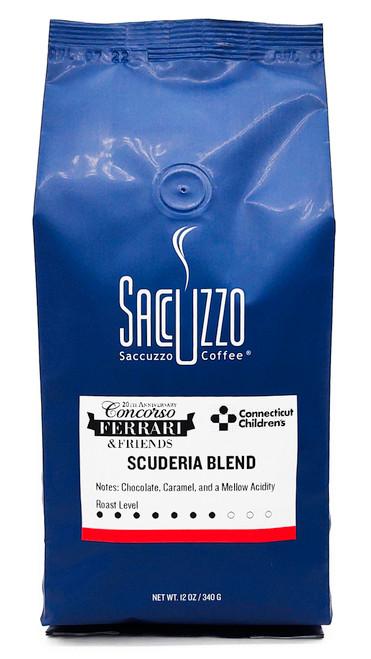 Saccuzzo Coffee Scuderia Blend 12oz Retail